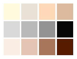 Farebná paleta minimalizmu