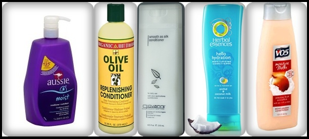 "My TOP 5 FAV conditioners for ""Co-Washing"""