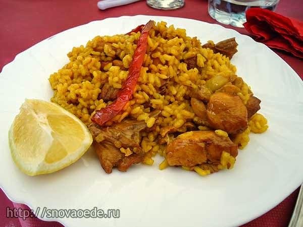 испанская паэлья