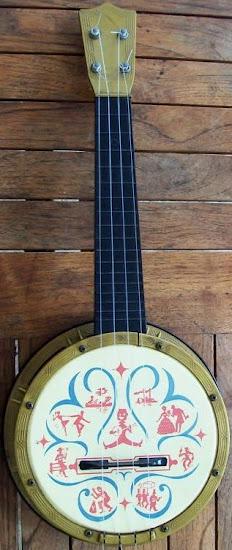 Maccaferri Mastro Plastic Banjolele Banjo at Lardy's Ukulele Database