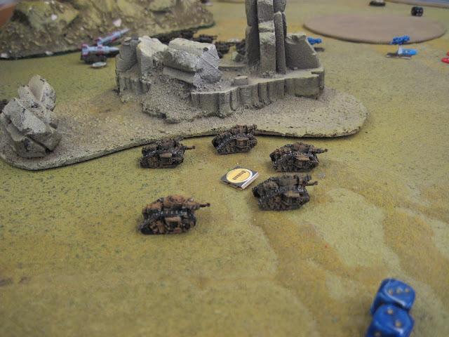 Demolishers hide admist the ruins.