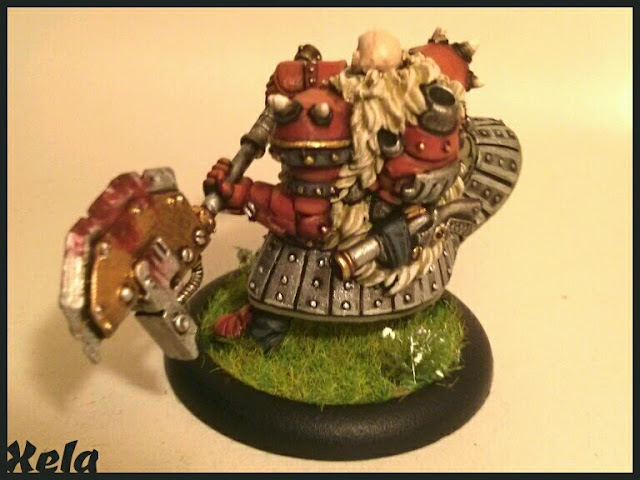 Butcher Warcaster pintado por Xela