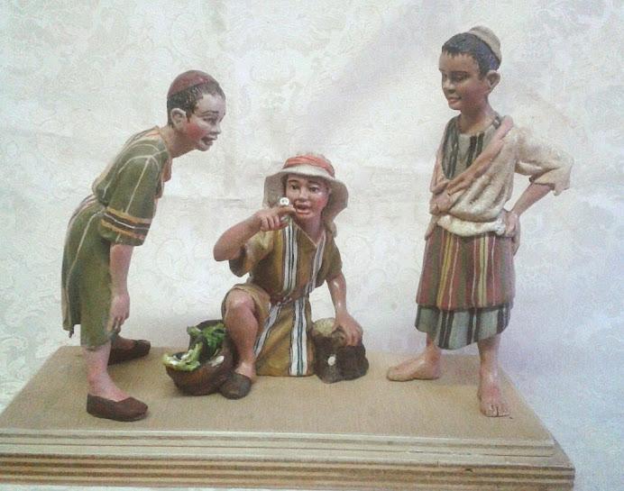 figura niños del caracol
