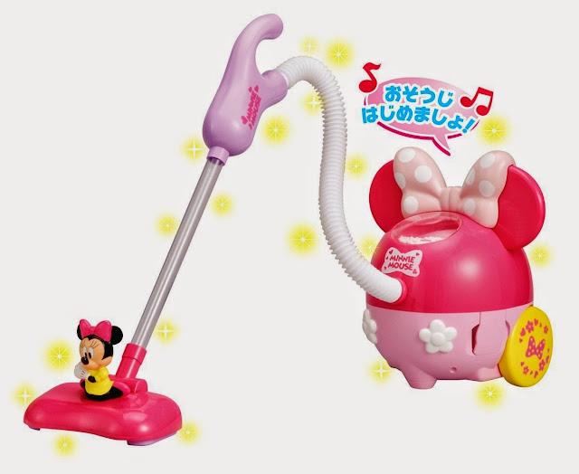 Máy hút bụi Minnie Cleaner với tông màu hồng chủ đạo