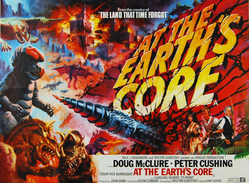 At the Earth's Core movie poster