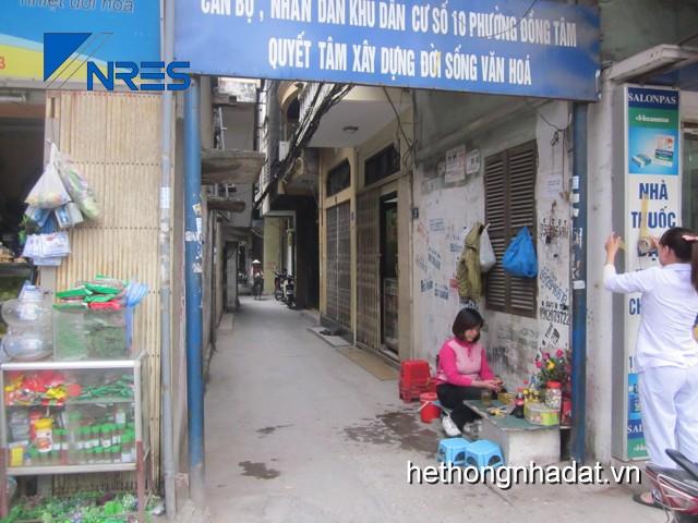 Mua bán nhà đất Hà Nội_Bán nhà số 16 ngõ 191A/7 Đại La