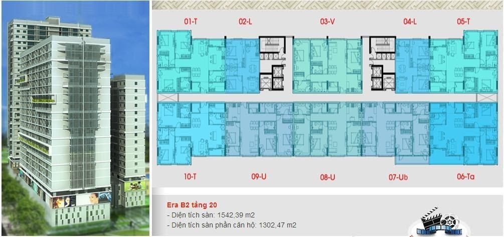 căn 1 pn block b2 era town can 1pn , mở bán block 2 căn hộ era town, can ho era town block 2, mặt bằng block 2 era town, thông tin chi tiết block 2 era town
