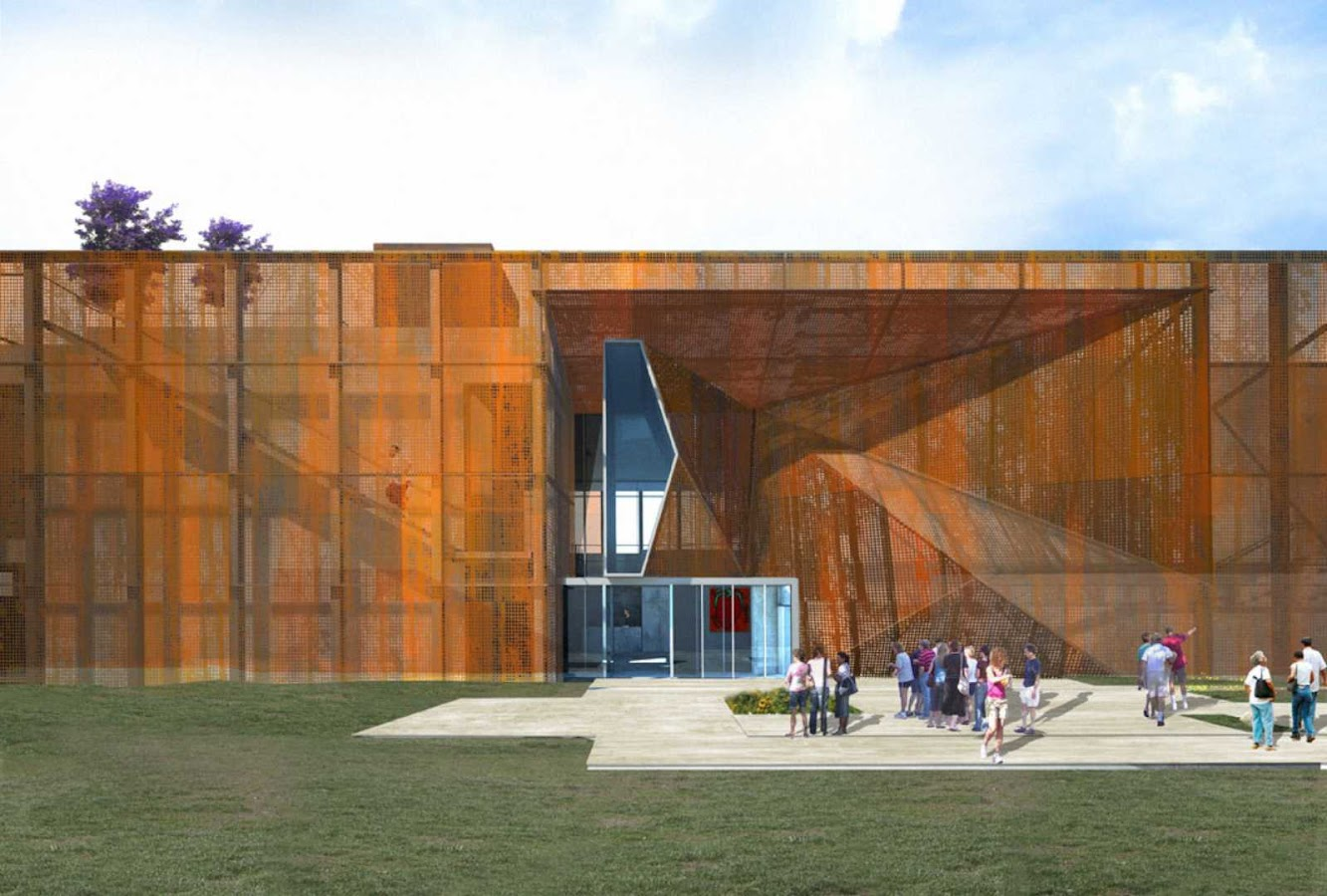 Saint Louis, Missouri, Stati Uniti d'America: Aronson Fine Arts Center At Laumeier Sculpture Park by Brooks + Scarpa Architects
