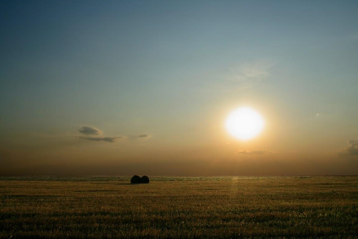 Закат, 40 км от Воронежа на юг