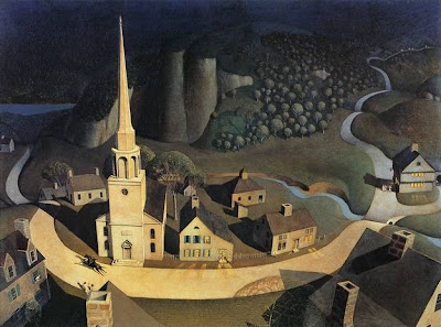 Grant Wood - The Midnight Ride of Paul Revere - 1931