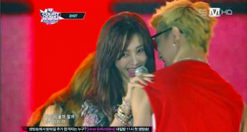 G Na Seduces B A Ps Bang Yong Gook During Collaboration Performance