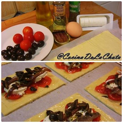 Ingredientes para las delicias Mediterráneas