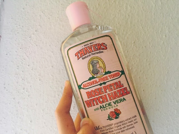 Thayers Rose Petal Witch Hazel Toner review