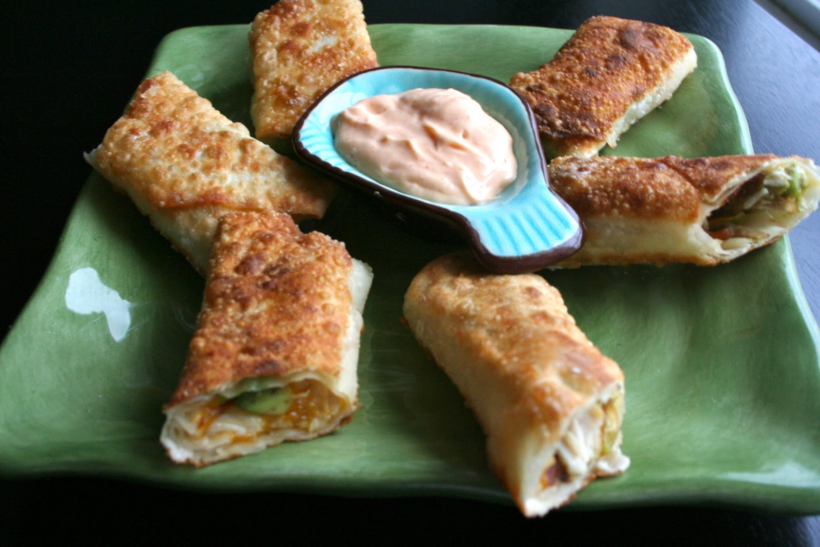 Mama Grubbs Grub: California Pizza Kitchen Avocado Club Egg Rolls