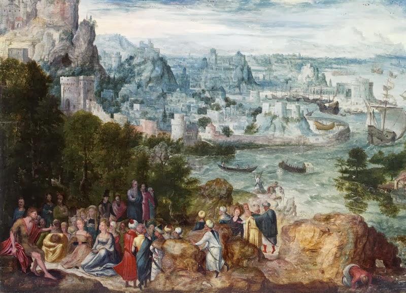 Herri met de Bles - Preaching of St. John the Baptist