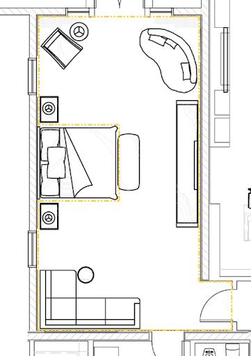 ตัวอย่างการขึ้นโมเดล ชุด Bedroom Interior [วิดีโอตอนที่ 4 มาแล้ว] Modoroom09