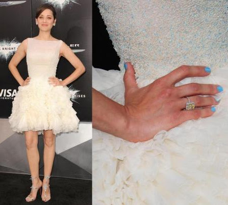 Marion Cotillard for The Dark Knight Rises launching
