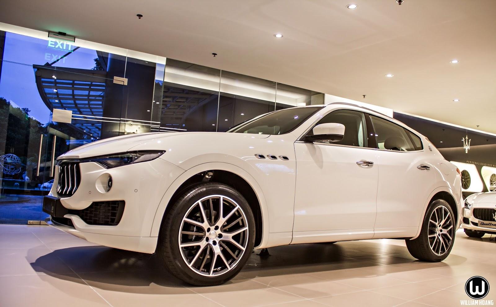 Maserati Levante sẽ là con át chủ bài của Maserati trong thời gian tới?