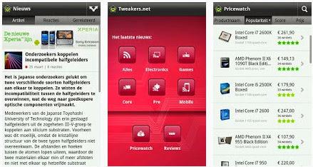 Tweakers App voor Android, iPhone en iPad