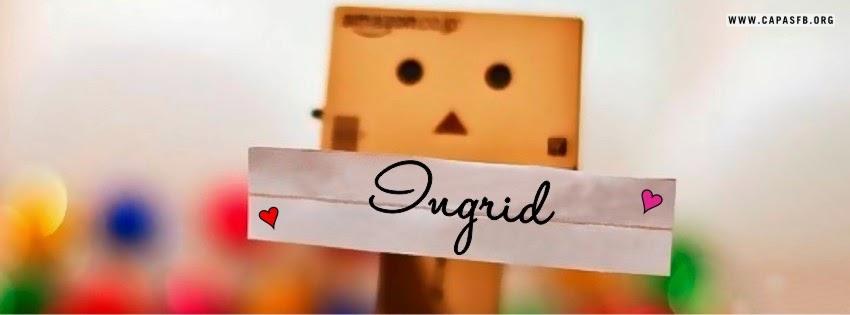Capas para Facebook Ingrid