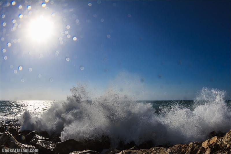 Последний выдох господина Пэжэ  (israel  тель авив одно фото моря и океаны  20130327 ta sea spring storm 001 IMG 3261)