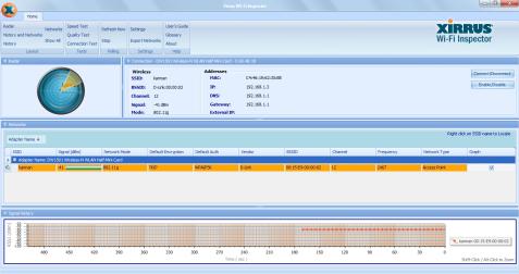 xirrus wifi inspector Mengatasi masalah WiFi pada XP, Vista, 7 dengan Xirrus Wi Fi Inspector