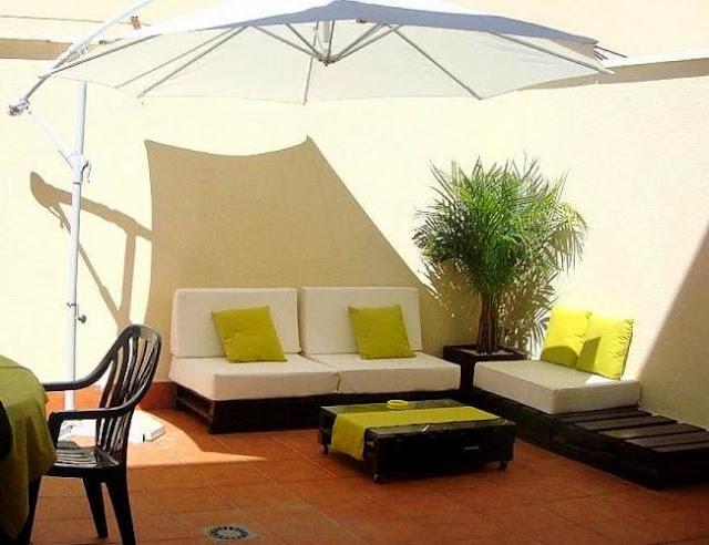 28 kreative palettenm bel ideen zum selber bauen. Black Bedroom Furniture Sets. Home Design Ideas