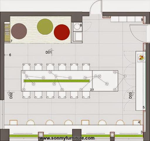 Thiết kế nội thất văn phòng đầy cảm hứng-9