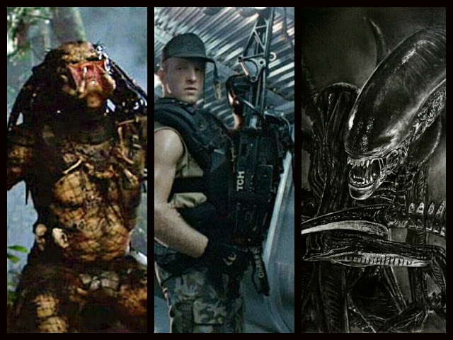 Predators, Aliens y Marines