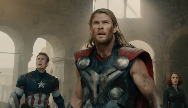 New Footage Arrives From 'Avengers: Age of Ultron'