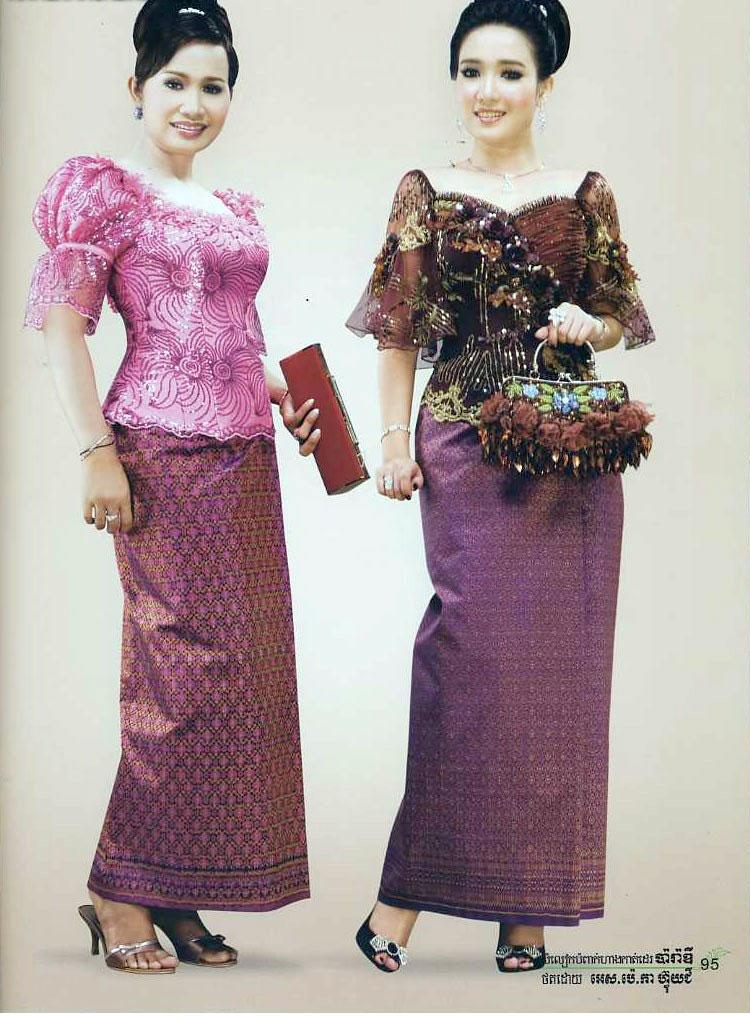 Dap News Khmer Clothes In Cambodia Cambodia Women Clothing