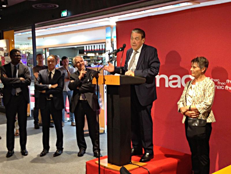 Inauguration de la Fnac le 20 juillet 2016 à Pontivy
