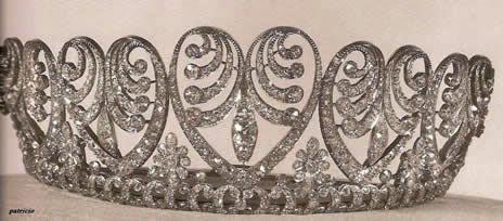 Joyas de la familia real Dinamarca Bade1