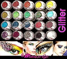 New Makeup 20 Color Glitter Sheet Eye Shadow Face Body Art Party