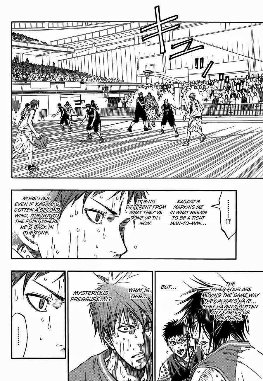 Kuroko no Basket Manga Chapter 270 - Image 05
