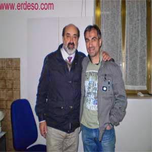 L'autore con il Dottore Isauro Grasselli