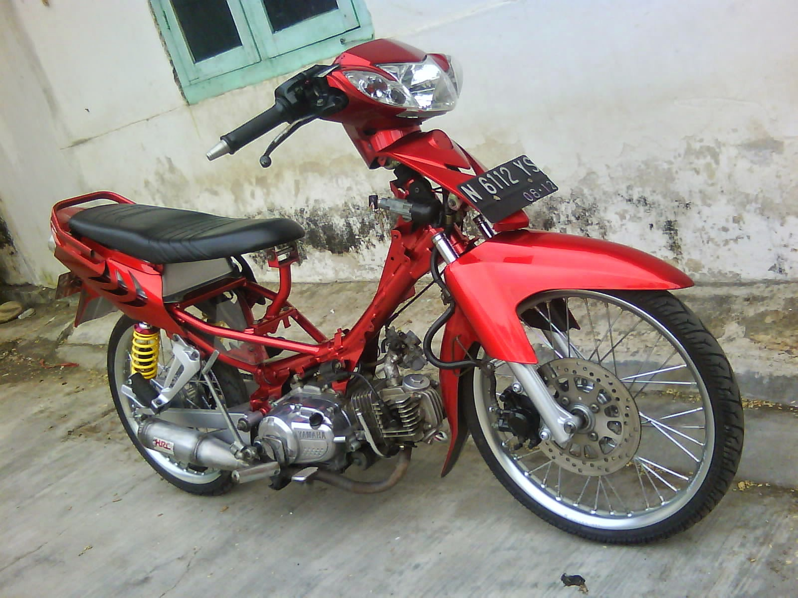 Yamaha Vega Modifikasi Drag