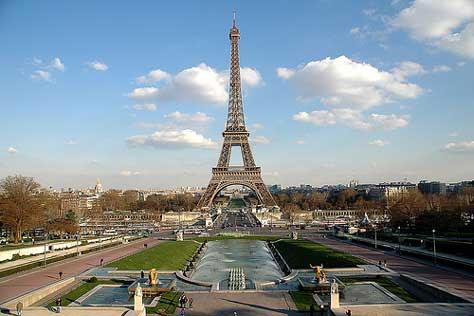 Tour Eiffel, de día