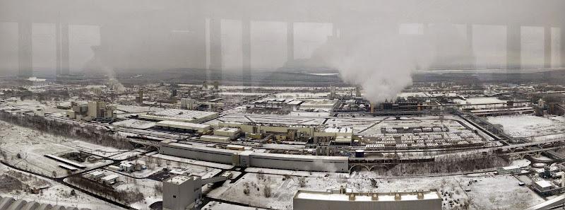 Aussicht vom Kraftwerk Schwarze Pumpe