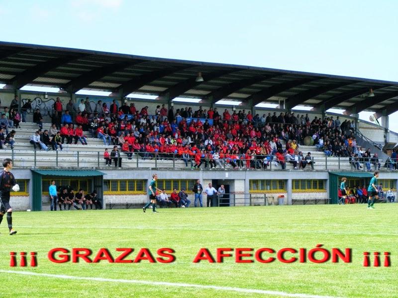 A Marea Vermella na final de copa de cadetes (24/05/2014)