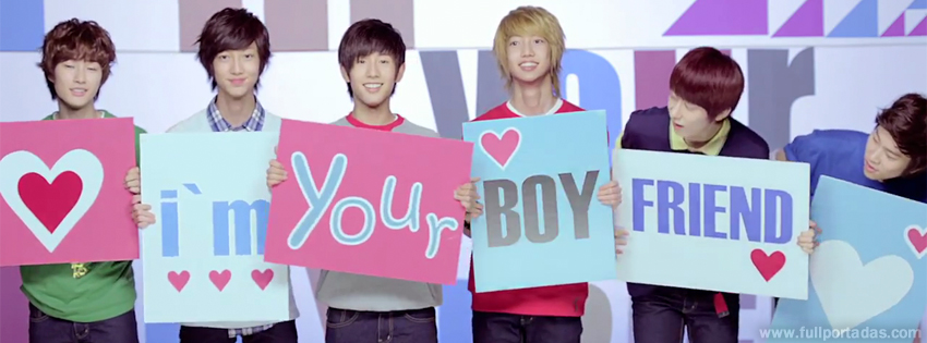 Portadas para facebook Grupo Kpop - Boyfriend