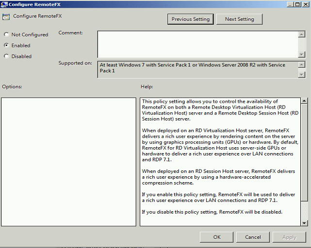 The Microsoft Platform: How to enable and test RemoteFX on RDSH