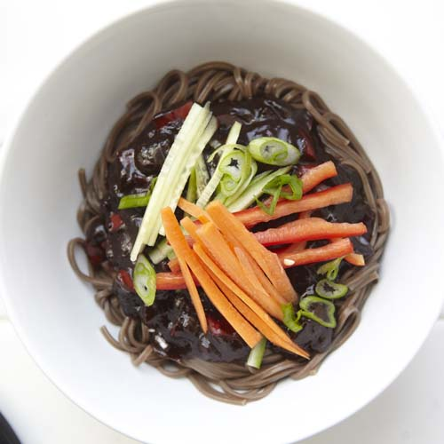 Brooklyn seoul jjajangmyun blackbean noodles recipe forumfinder Choice Image