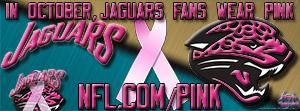 Jacksonville Jaguars Breast Cancer Awareness Pink Facebook Cover Photo
