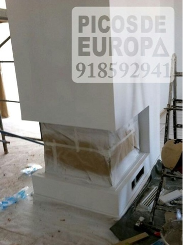 Chimeneas picos de europa chimenea le a instalaci n en - Instalacion chimeneas de lena ...