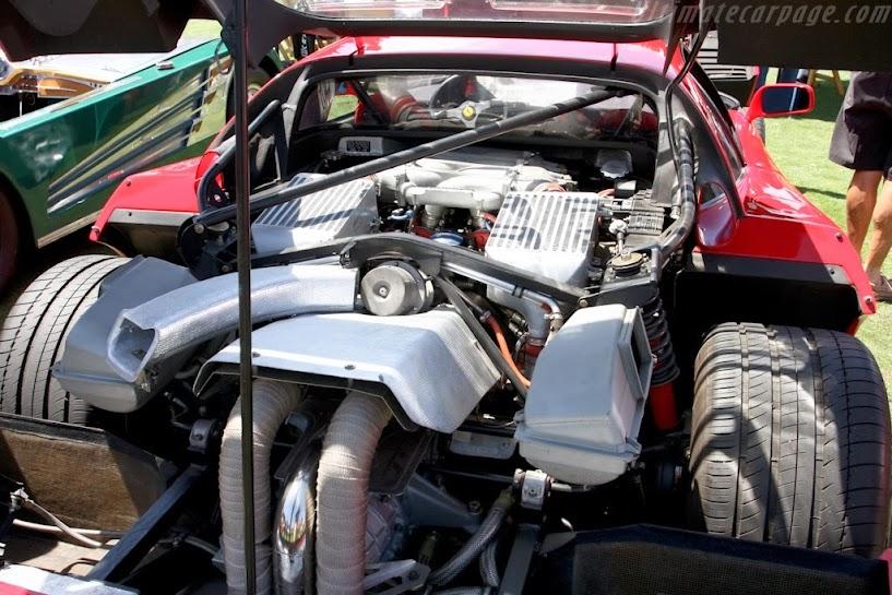 1987-1992 Ferrari F40 Engine