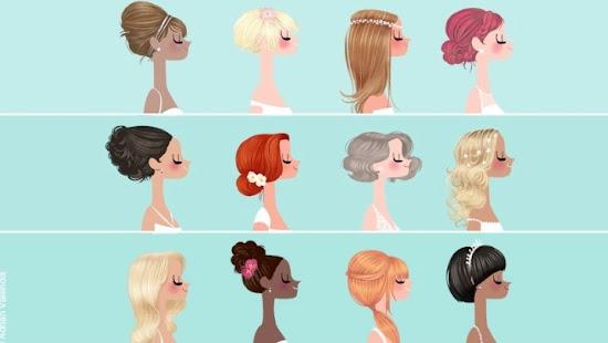 Adrian Valencia Fashion Illustrations Wedding Hair Styles