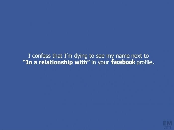 Facebook Confession