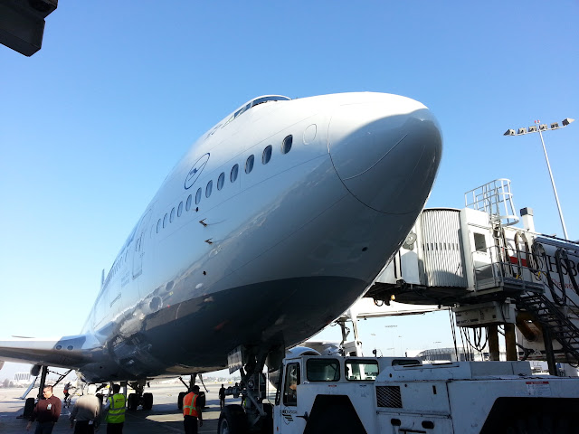 Lufthansa Brings the 747-8 to Los Angeles