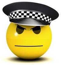 Полиция в Facebook – патруль по улицам отменяется